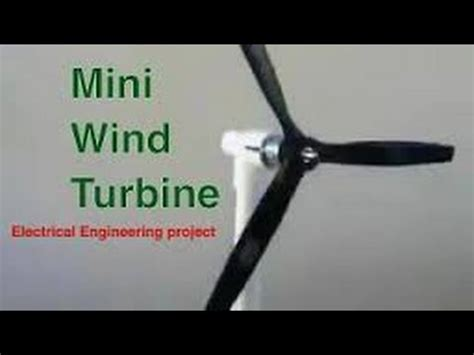 Mini thesis for electrical power engineering
